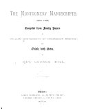 download ebook the montgomery manuscripts: (1603-1706) pdf epub