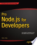 Pro Node js for Developers