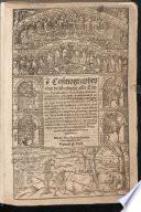 Cosmographey oder beschreibung aller Länder, Herrschafften, fürnemmsten Stetten, geschichten, gebreüchen, handtierungen &c