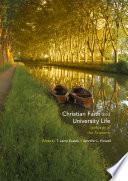 Christian Faith and University Life