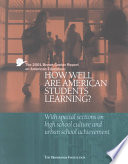 The Brown Center Annual Report On American Education book