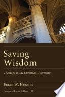 Saving Wisdom book