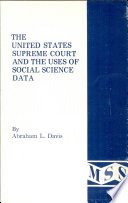 The United States Supreme Court And The Uses Of Social Science Data