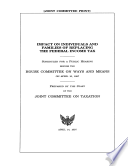 Impact on Individuals and Families of Replacing the Federal Income Tax