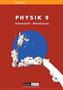 Link Physik 9. Schuljahr Arbeitsheft. Mittelschule Sachsen