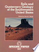 Soils and Quaternary Geology of the Southwestern United States