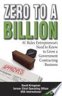 Zero to a Billion