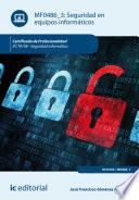 Seguridad en equipos informáticos. IFCT0109 Identificar Los Elementos Del Sistema Implicados Y