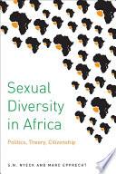 Sexual Diversity in Africa