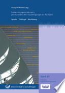 Entwicklungstendenzen germanistischer Studiengänge im Ausland