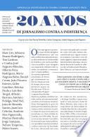20 anos de Jornalismo contra a indiferença