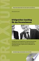 Erfolgreiches Coaching f  r das Personalwesen