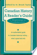 Canadian History: Beginnings to Confederation