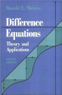 Difference Equations  Second Edition Acquired A New Significance Due In