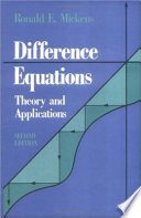 Difference Equations, Second Edition Acquired A New Significance Due In Large