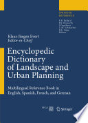 illustration Encyclopedic Dictionary of Landscape and Urban Planning
