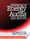 Handbook of Energy Audits, 9th Edition