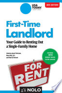 First Time Landlord