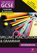 English Language and Literature Spelling, Punctuation and Grammar Workbook