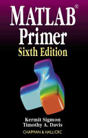 MATLAB Primer  Sixth Edition