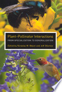 Plant-Pollinator Interactions Birds Insects And Bats Rely On