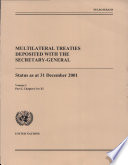 Multilateral Treaties Deposited With the Secretary General