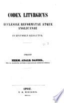 Codex liturgicus ecclesiae universae in epitomen redactus