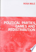 Political Parties  Games and Redistribution