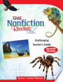 TIME For Kids Nonfiction Readers  Challenging Teacher s Guide  Spanish Version