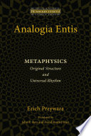 Analogia Entis  Metaphysics