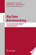Big Data Benchmarking