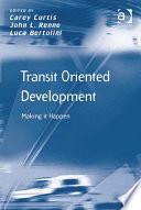 Transit Oriented Development
