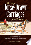 Driving Horse Drawn Carriages for Pleasure