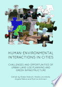 Human Environmental Interactions in Cities