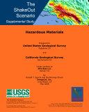The ShakeOut Scenario Supplemental Study: Hazardous Materials