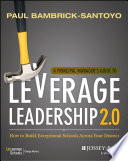 A Principal Manager s Guide to Leverage Leadership