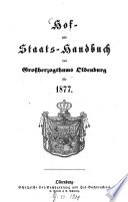 Hof- und Staatshandbuch des Großherzogtums Oldenburg0