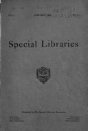 Special Libraries