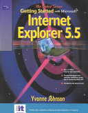 Getting Started with Internet Explorer 5  5