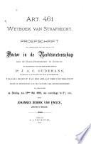 Art 461 Wetboek Van Strafrecht
