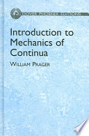 Introduction to Mechanics of Continua