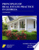 Principles Of Real Estate Practice In Georgia 2nd Edition