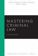 Mastering Criminal Law