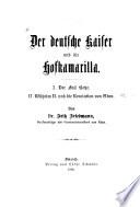 Der deutsche kaiser und die hofkamarilla
