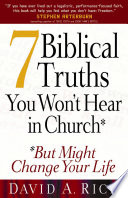 7 Biblical Truths You Won t Hear in Church