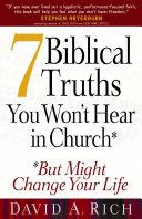 download ebook 7 biblical truths you won\'t hear in church pdf epub