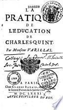La pratique de l'éducation de Charles-Quint