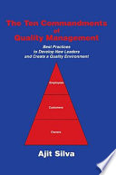 The Ten Commandments of Quality Management