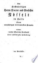 D. Johann Peter Millers Anleitung zum heilsamen Gebrauche des heiligen Abendmahls
