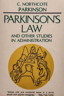 Parkinson's Law, and Other Studies in Administration Pdf/ePub eBook